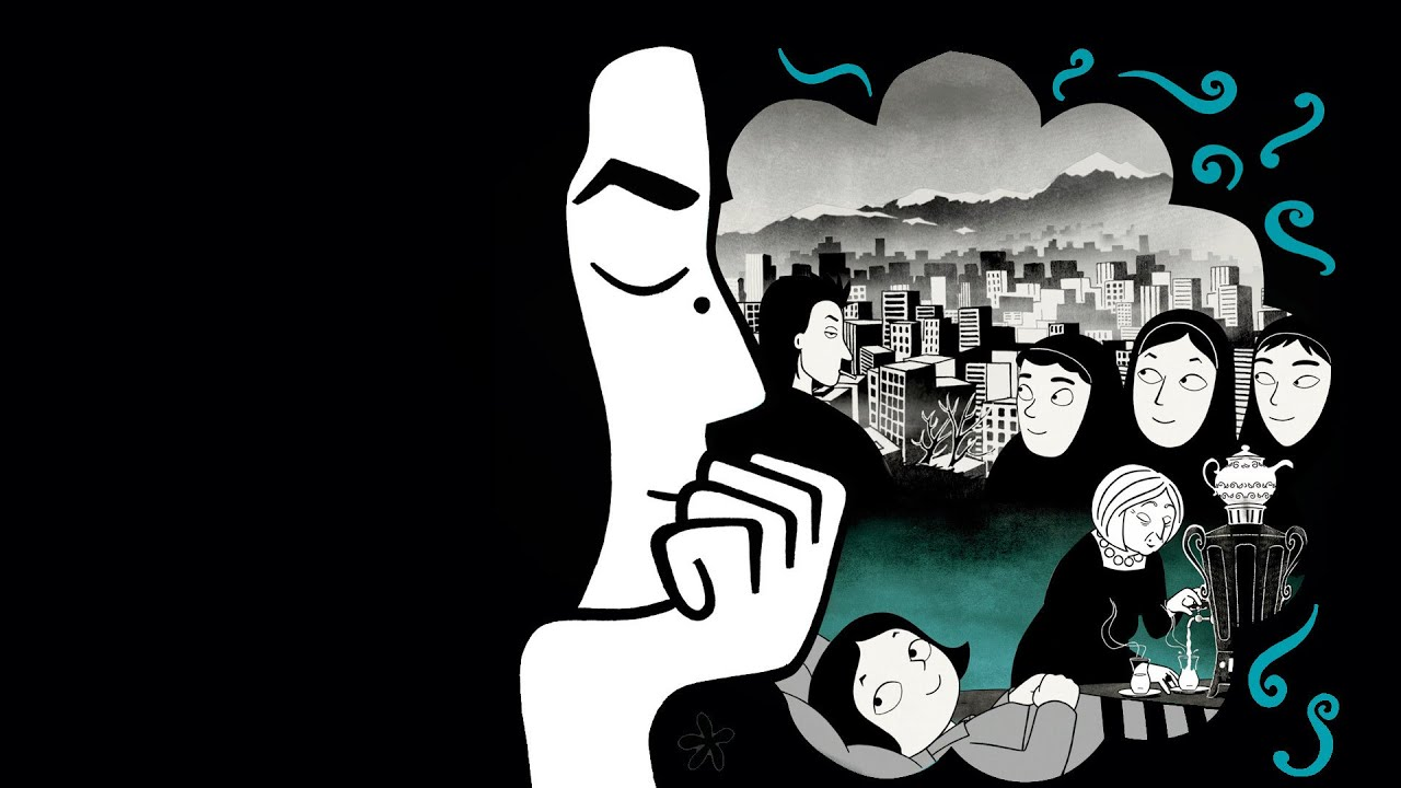 the veil and persepolis The story of a childhood by marjane satrapi why is the veil compulsory persepolis is an account of demands made without understanding of.