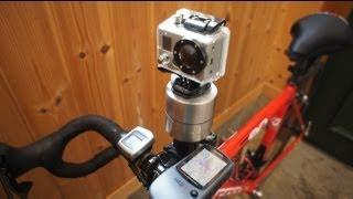 試しにやってみた感じの映像です。 GoProをキッチンタイマーに載せ、自...