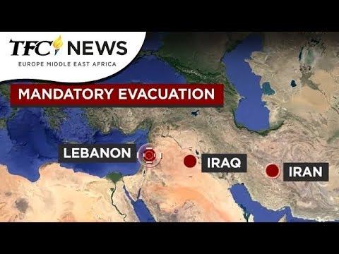 Mandatory Evacuation | TFC News EMEA