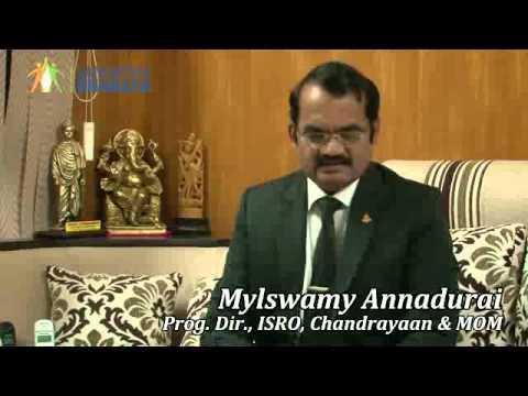 Sri Myleswamy Annadurai, Prog. Director, ISROM Chandrayaan & MOM