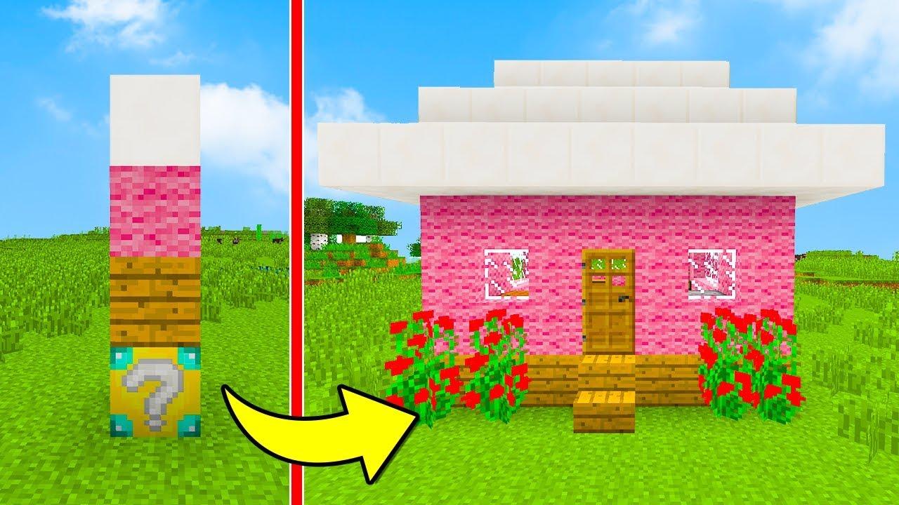 Minecraft ita crea la tua casa in 0 1 secondi youtube for Crea la tua casa virtuale