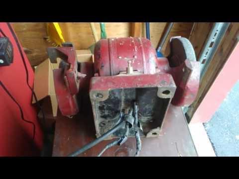 free bench grinder! (rewired ) youtube plasma cutter wiring diagram bench grinder wiring diagram