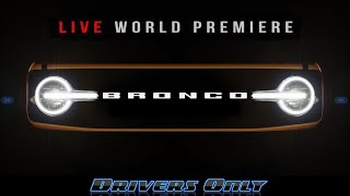 2021 Ford Bronco World Premiere | LIVE