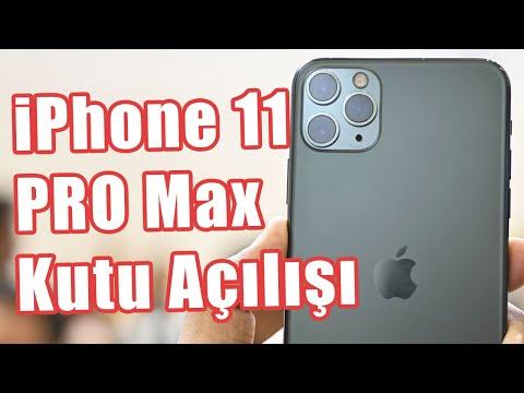 Apple'ın En Pahalı Telefonu IPhone 11 Pro Max İlk Defa Türkiye Topraklarında! (Kutu Açılışı Videosu)