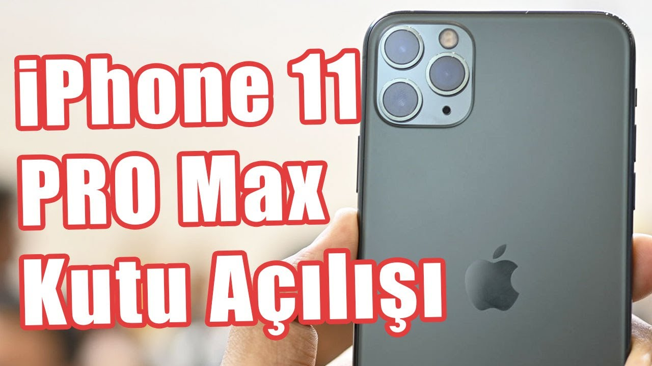 Apple'ın En Pahalı Telefonu iPhone 11 Pro Max İlk Defa Türkiye Topraklarında! (Kutu Açılışı Vid
