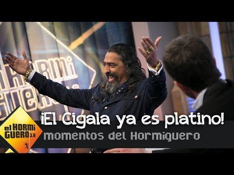Diego el Cigala entra en el club Platino de