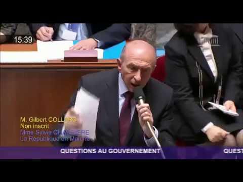#Clichy Collomb clash Collard !