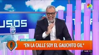 """Dady Brieva: """"En La Calle Soy El Gauchito Gil"""""""