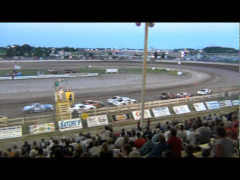 Grand Nationals Main Event @ Manitowoc County Expo Speedway 7-22-2011 Dirt Track Wisconsin