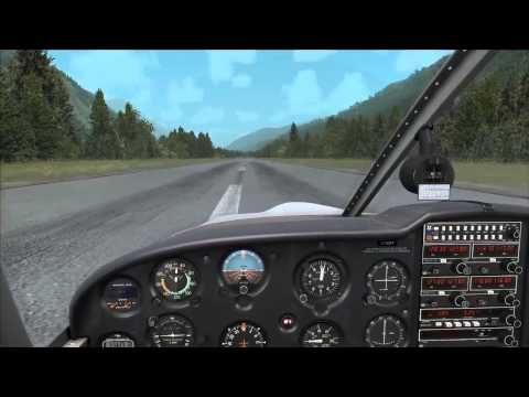 A2A Simulations Piper Cherokee 180 start-up & take-off