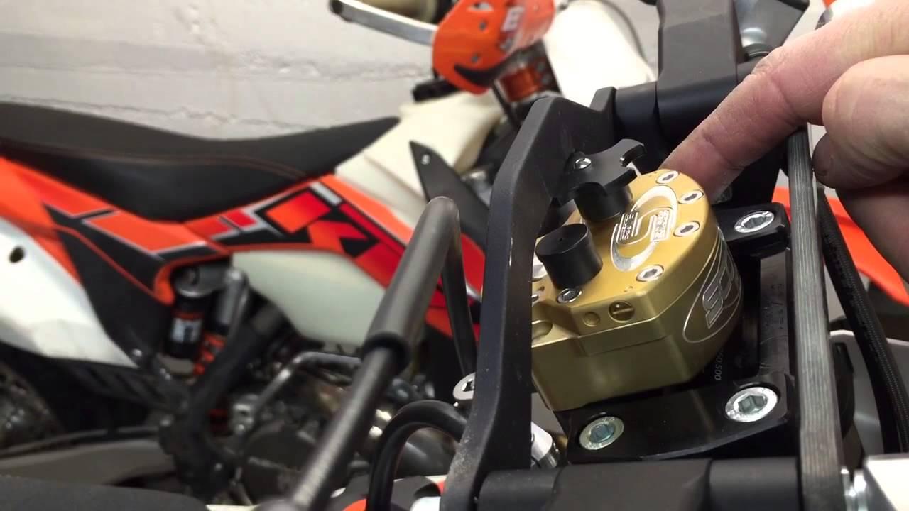 Scotts Steering Damper Kit for Honda CRF250/450R&X