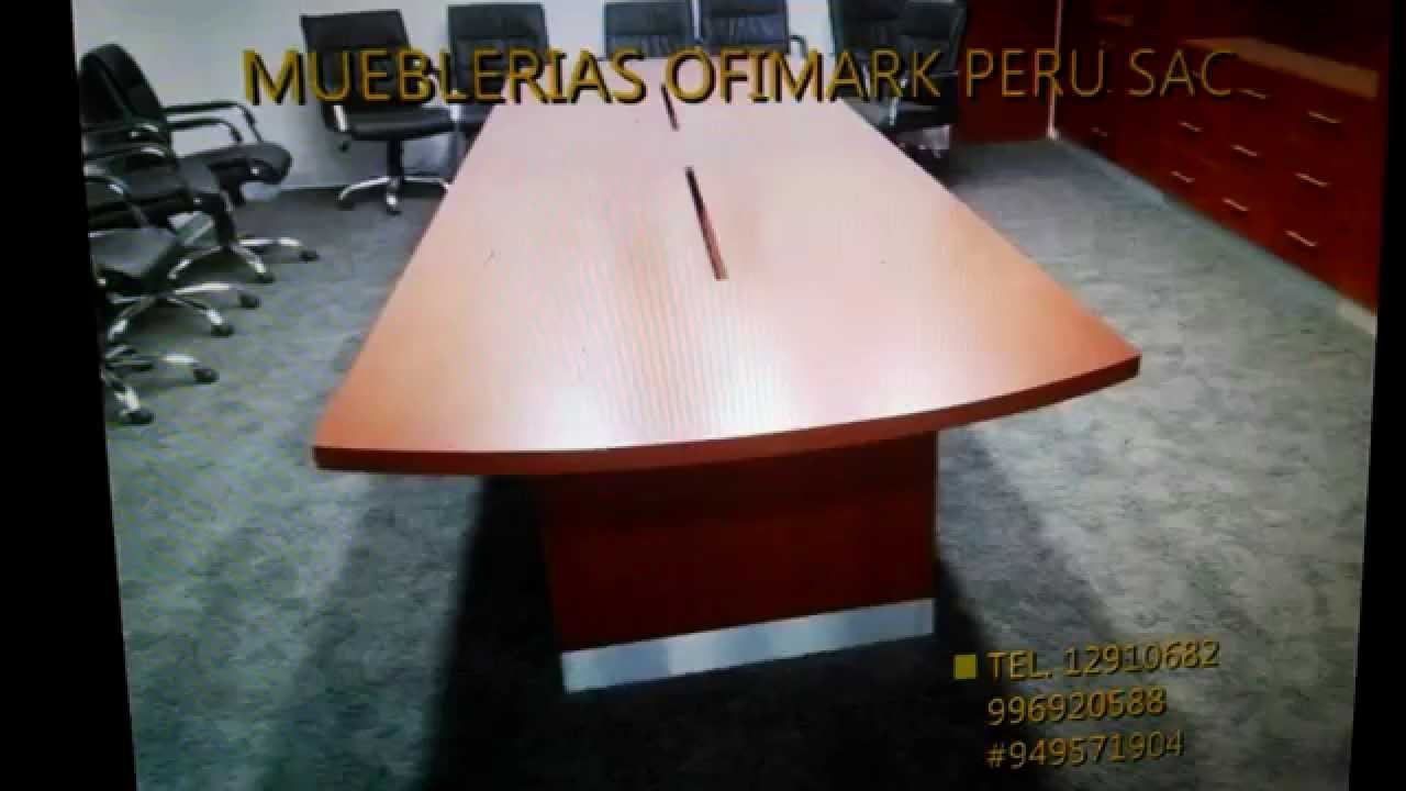 Mesa de reuniones mesa de directorio mesa de melamina for Mesas de reuniones para oficinas