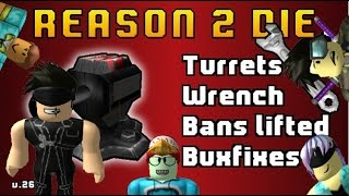 Roblox Reason 2 Die New update 2014 Version 26