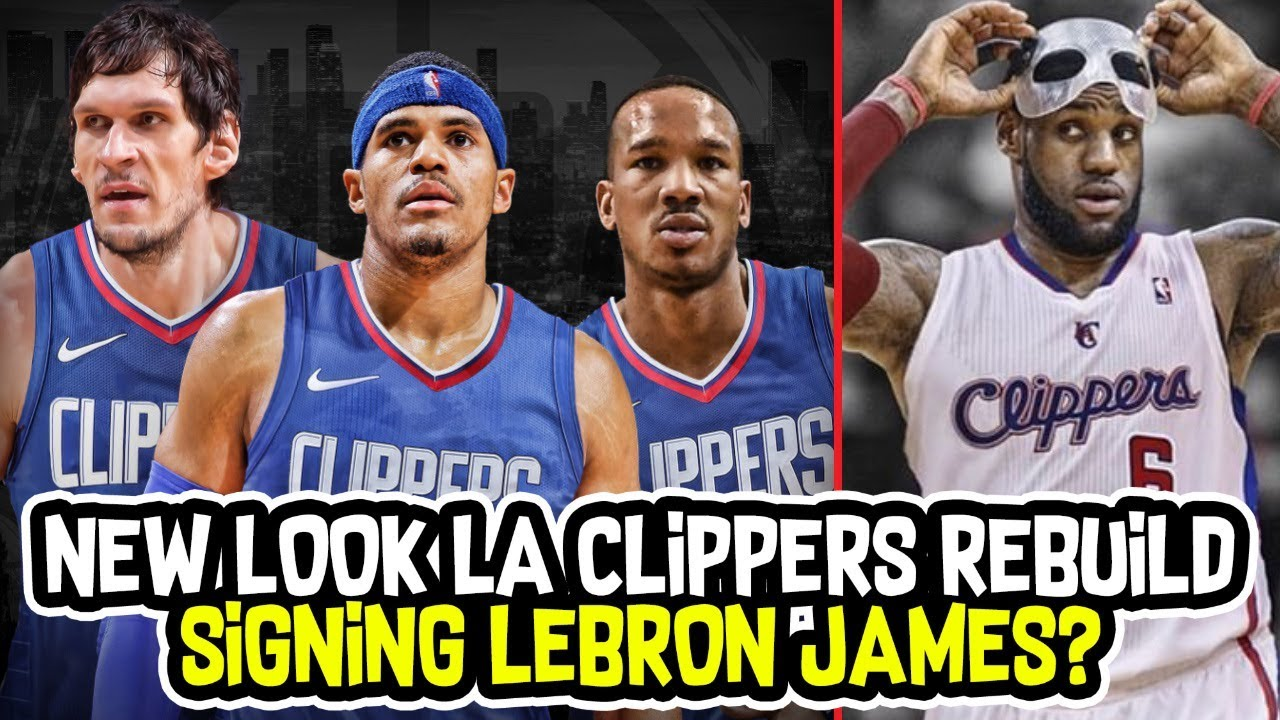 d460a6b8d21 SIGNING LEBRON JAMES?! AVERY BRADLEY + TOBIAS HARRIS LOS ANGELES CLIPPERS  REBUILD!