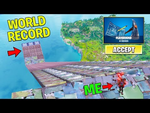 *NEW* Fortnite PLAYGROUND WORLD RECORDS Live! | Fortnite PlayGround Mode Gameplay