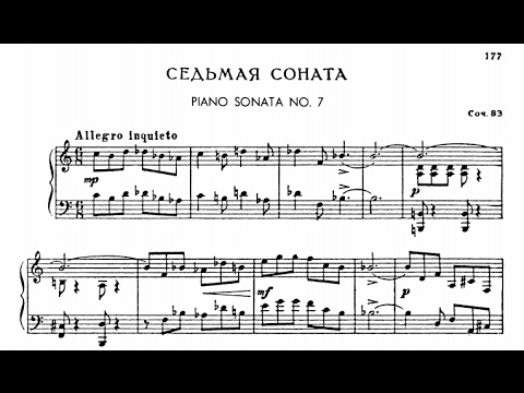 Prokofiev Piano Sonata No. 7 in B-flat Major, Op. 83,