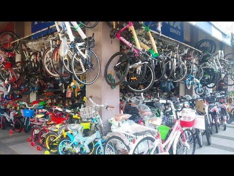 บิว ไบค์ ร้านใหญ่ ขายจักรยาน อะไหล่จักรยาน หลังตลาดมีนบุรี