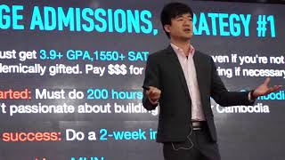 The Truth about College Admission  Alex Chang  TEDxSM CSchool