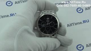Обзор. Мужские наручные часы Oris 582-7689-40-54MB
