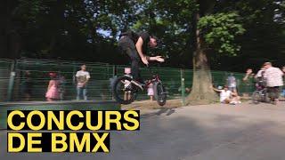 Concurs de BMX in Skatepark Herastrau