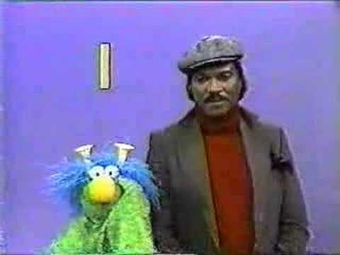 Billy Dee Williams on Sesame Street