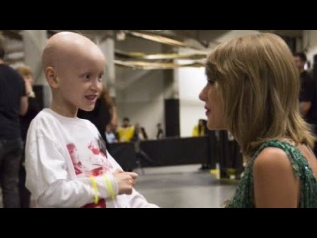 Taylor Swift being amazing with fans for 4 minutes straight
