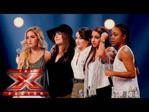 Mon Amie want to blow the roof off with Britney hit | 6 Chair Challenge | The X Factor UK 2015