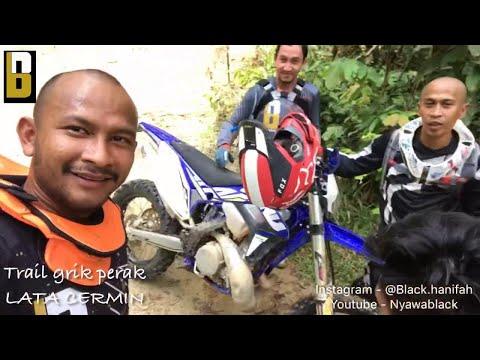 Black,achey N Rakan Celebiti Lain Trail Motorcross Di Grik Perak Naik Lata Cermin!! #nivalel