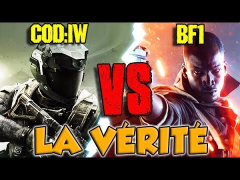 COD: Infinite Warfare VS BATTLEFIELD 1 : LA VÉRITÉ