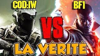 COD: Infinite Warfare VS BATTLEFIELD 1 : LA VÉRITÉ