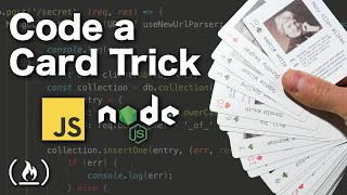Code a magic card trick using JavaScript & Node.js - Tutorial