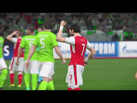Group D, Matchday 2 : VFL Wolfsburg (2) Vs Arsenal FC (1)