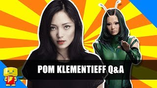 Pom Klementieff Q&A Mantis in Guardians of the Galaxy Vol. 2