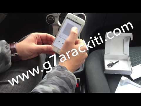 CAR G7 Bluetooth Araç Kiti - Fm Transmitter Kullanımı