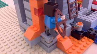 Ultimate Lego minecraft Hunger Games 6