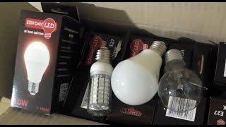 Светодиодные лампы(Купил себе светодиодные лампы. Изначально относился к ним слегка скептически, поскольку опыт с кетайскими..., 2016-02-06T20:45:37.000Z)