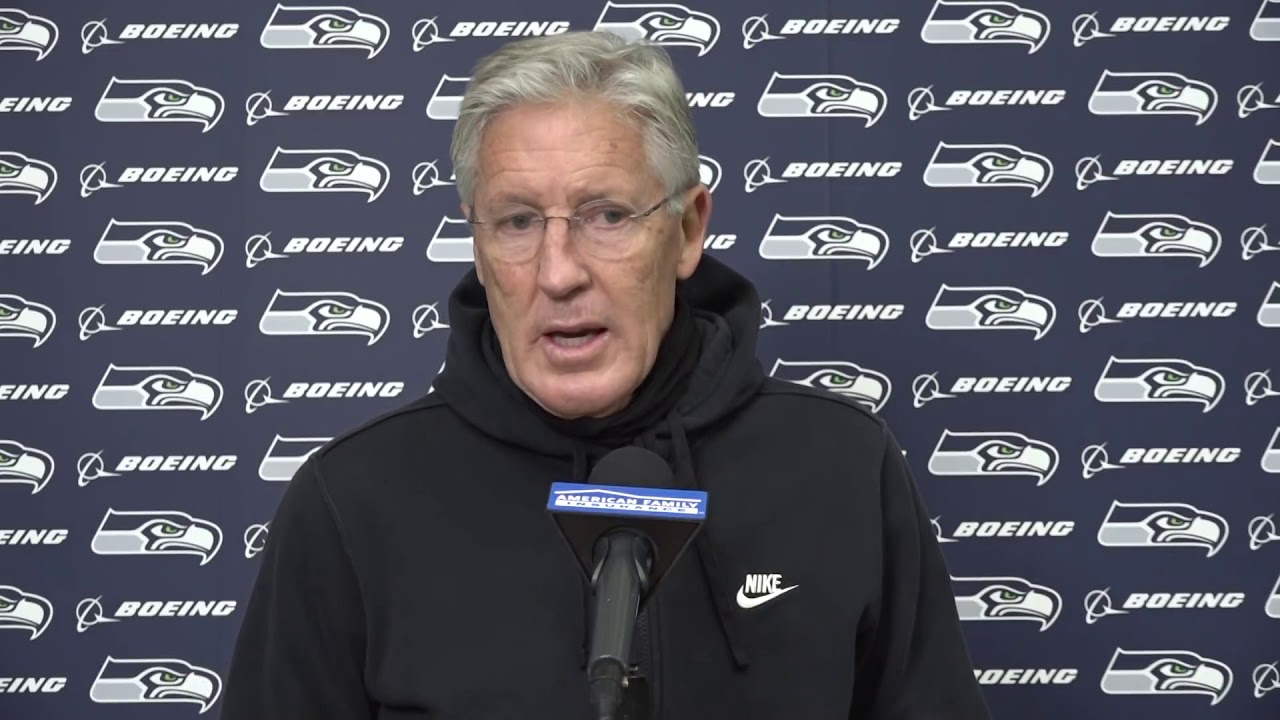 Pete Carroll on Bad Game 2020-11-10