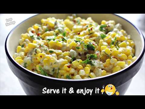 Easy and Quick Mexican Corn Salad Recipe