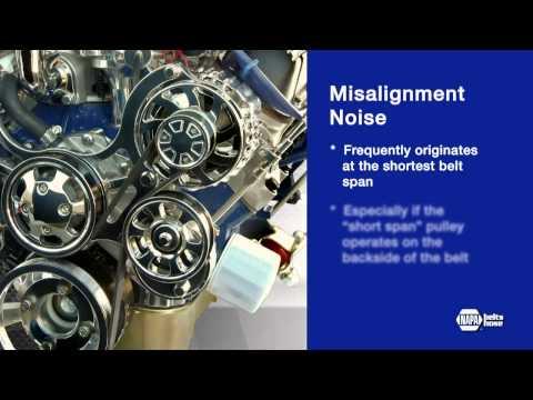 Diagnosing Belt Noise - NAPA Belts/Hose