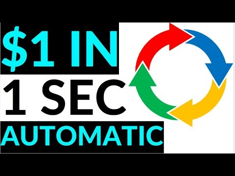 Earn $1 Every Second AUTOMATICALLY! (Make Money Online)