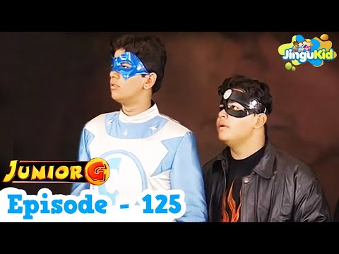 Junior G - Episode 125 | HD Superhero TV Series | Superheroes & Super Powers Show for Kids