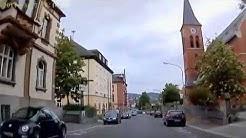 D: Marktredwitz. Landkreis Wunsiedel. Fahrt durch die Stadt. Mai 2014