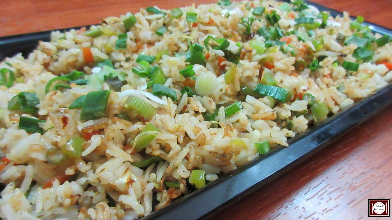 Fried rice recipe in hindi fried rice recipe in hindi restaurant style fried rice ccuart Images