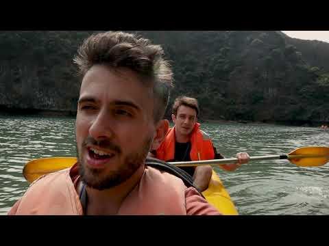 Ha Long Bay Tour Vlog, Cat Ba Island, VIETNAM!