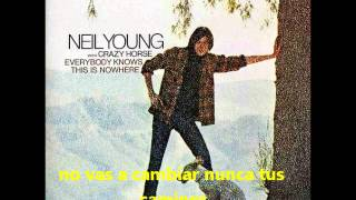 Neil Young - Losing End (When You're On) (Sub Español)