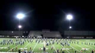 Har-Ber High School Band Grand Champion Finals Performance 2014 War Eagle Classic