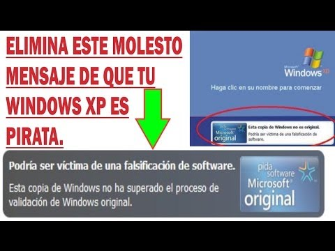 VALIDAR WINDOWS XP PIRATA A ORIGINAL 100% GARANTIZADO