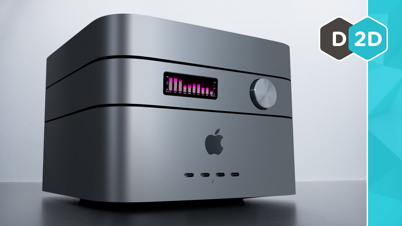 The Modular Mac Pro Concept