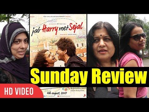 Jab Harry Met Sejal Movie Public Review   JHMS Sunday Review   Shahrukh Khan, Anushka Sharma