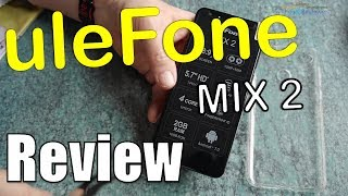 Ulefon Mix 2 Test Review - Low Budget Mix2 - 18:9 HD+ LTE - Hand-on ...